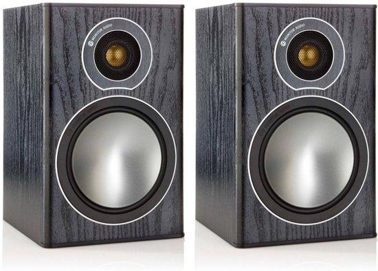 Monitor Audio Bronze 1 - zwart - Boekenplank Speaker