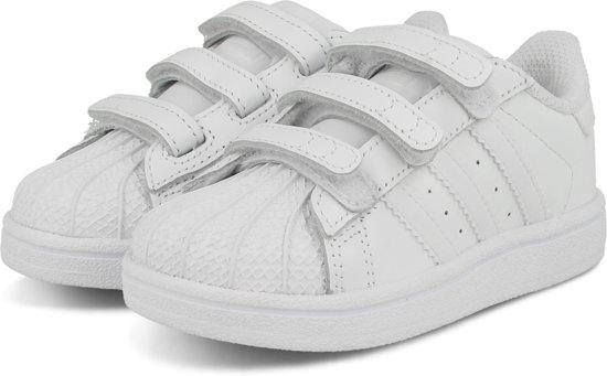 602f094527b adidas SUPERSTAR FOUNDATION CF I B25725 - schoenen-sneakers - Unisex - wit/ wit