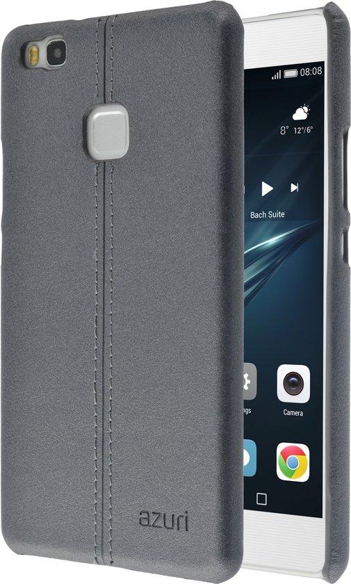 Azuri Stitch hoesje - Voor Huawei P9 Lite - Grijs