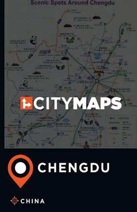 City Maps Chengdu China