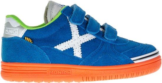 4352782d9a1 bol.com | Munich G-3 Kid VCO Sneakers - Maat 32 - Unisex - blauw/wit ...