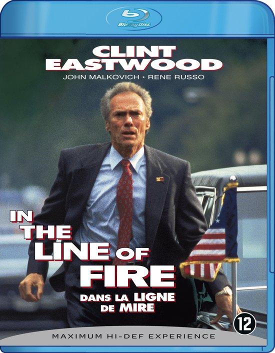 Cover van de film 'In the line of fire'