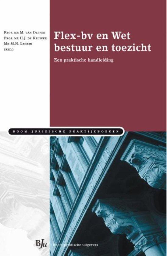 Boom Juridische praktijkboeken Flex bv en Wet bestuur en toezicht