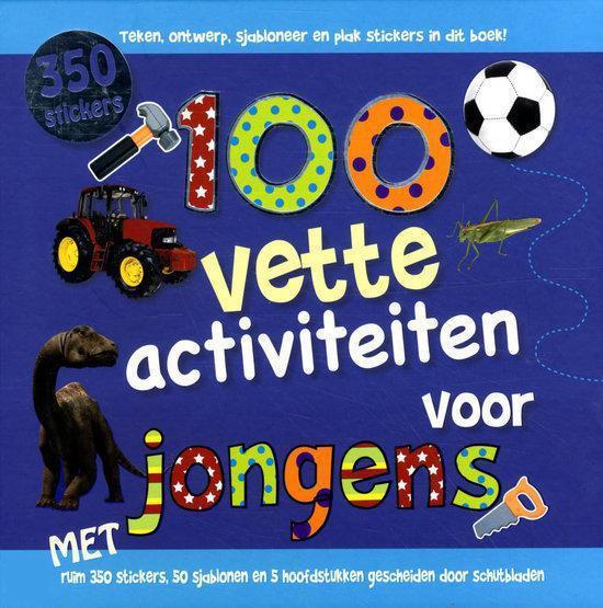 Verwonderend bol.com   100 vette activiteiten voor jongens, Niet bekend VO-46