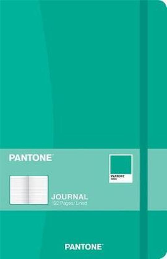 Pantone Planner Journal Aruba Green