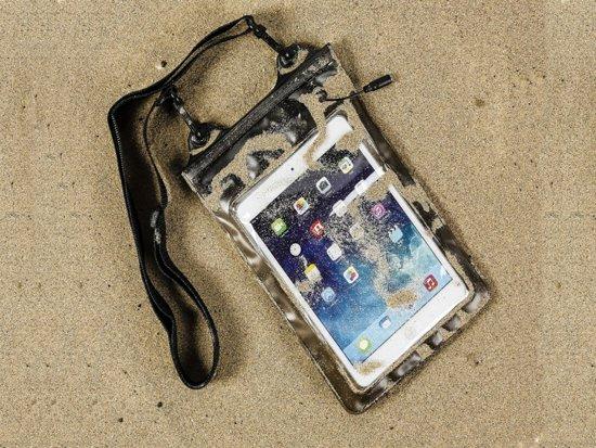 Sterk waterdicht hoesje voor Gigaset Qv830 met audio / koptelefoon doorgang, transparant , merk i12Cover in Gosselies