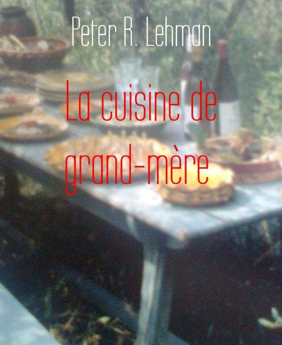Boekomslag voor La cuisine de grand-mère