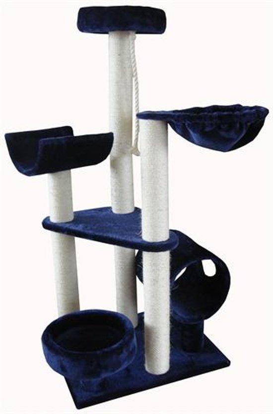 Krabpaal lisbon blauw 60x50x130 cm