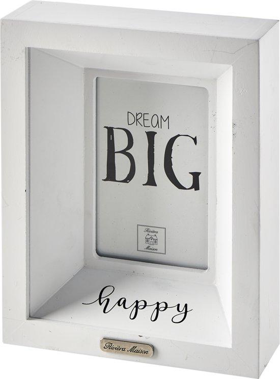 bol.com | Riviera Maison - Happy Photo Frame - 10x15 - Fotolijst