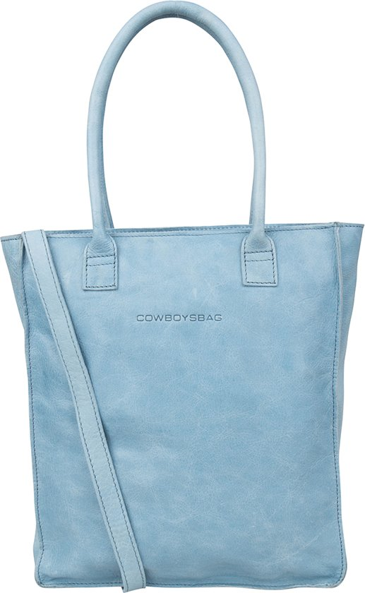 Cowboysbag Laptop Bag Woodridge 15 inch - Milky Blue