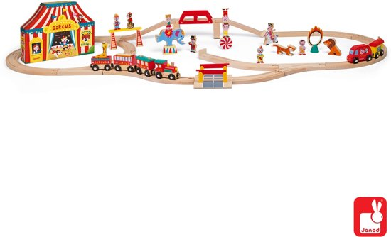Janod Story Express - Het Circus + Rails