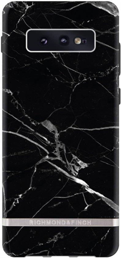 Richmond & Finch Freedom Series Samsung Galaxy S10e Black Marble/Silver