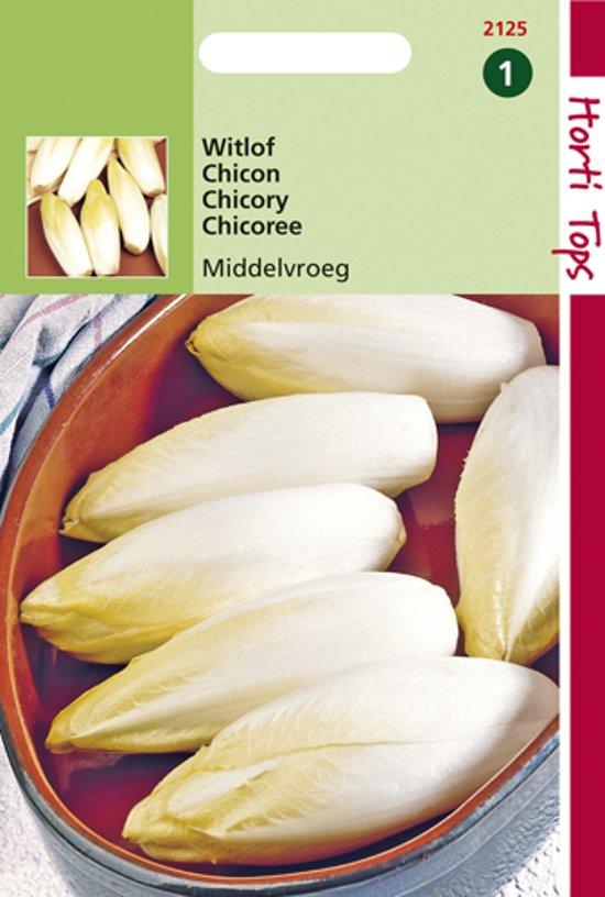 Hortitops Zaden - Witlof Hollandse Middelvroeg - Edellof