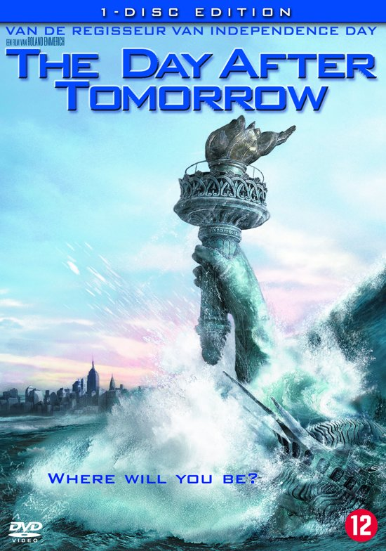 Cover van de film 'The Day After Tomorrow'