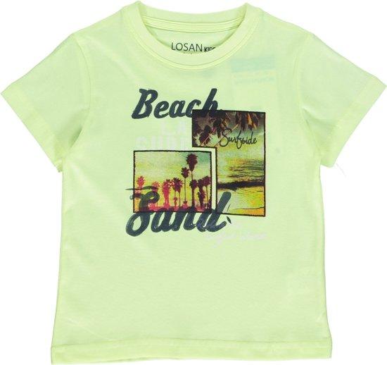 Losan Jongenskleding -  shirt geel - Z30-151- Maat 92