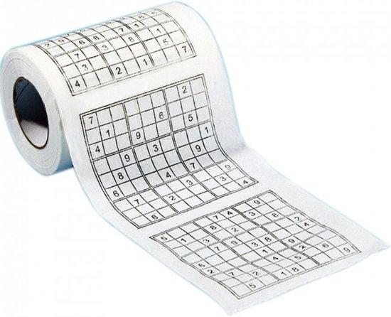 Thumbnail van een extra afbeelding van het spel Sudoku toiletpapierrollen 2 stuks