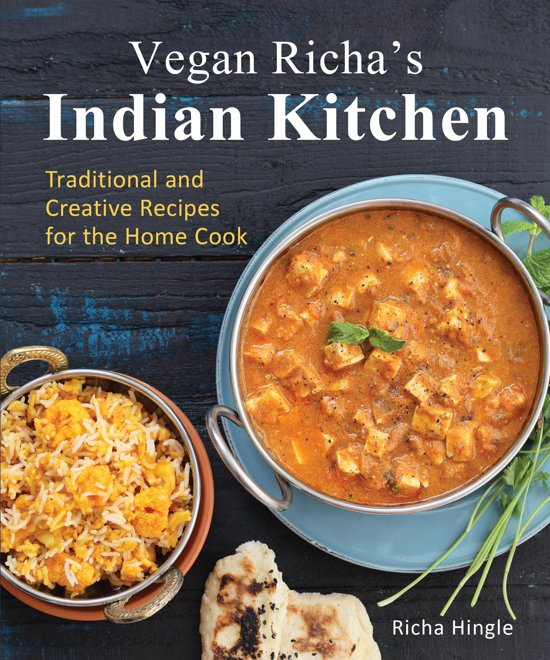 Boek cover Vegan Richas Indian Kitchen van Richa Hingle (Onbekend)