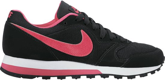 Nike MD Runner 2 (GS) Sneakers Kinderen - Black/Vivid Pink-White