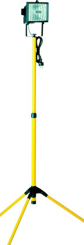 Smartwares TL400 Bouwlamp – Met statief - 400 W - Verstelbaar van 1,05 tot 1,92 meter