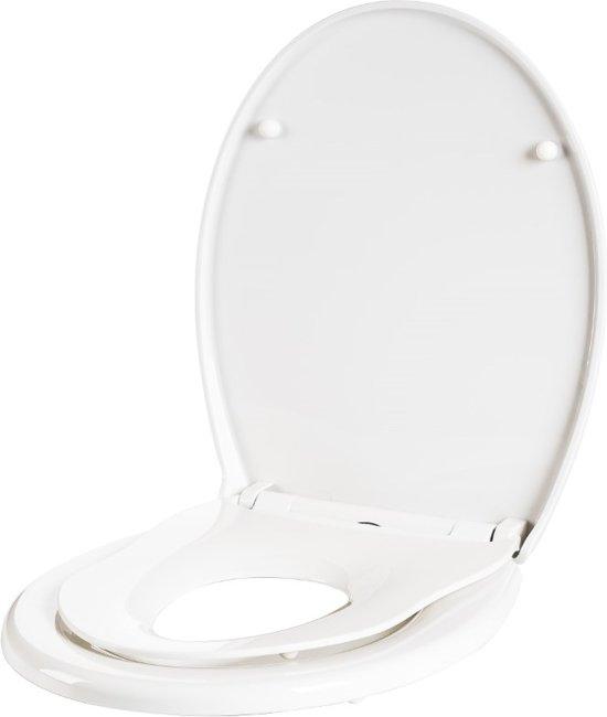 e82c606112f0f1 Familie toiletbril met een geïntegreerde toiletbril verkleiner. Softclose  en quickrelease!