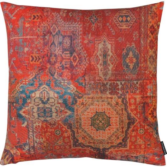 The Cushion Shop Antique Rug - Sierkussen - 44x44 cm - Terra