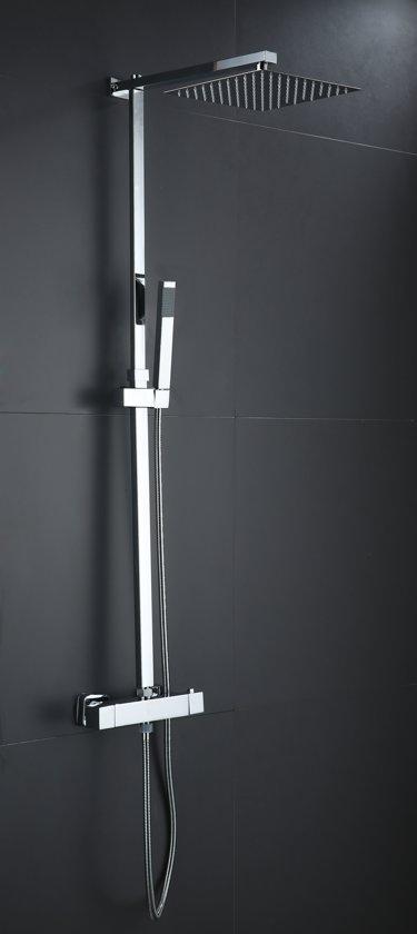 Excellent Wellness Opbouw Doucheset Regendouche type TD004 met Thermostaatkraan en Handdouche