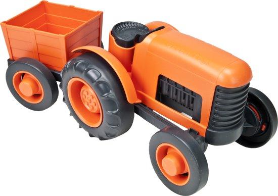 Green Toys - Tractor met aanhangwagen