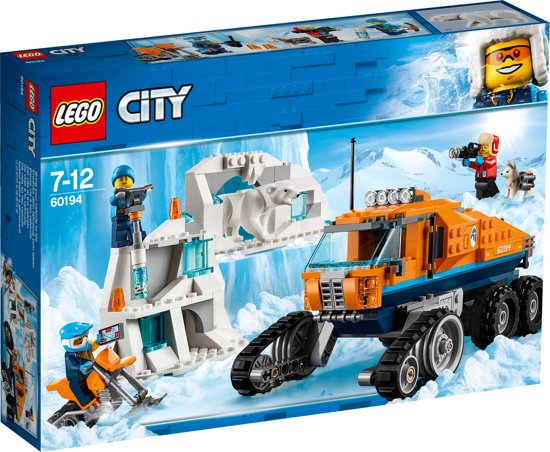 bol lego city arctic poolonderzoekstruck 60194