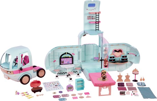 L.O.L. Surprise 2-in-1 Glamper - Luxe poppenwagen