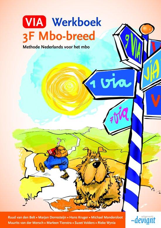 VIA - 3F mbo-breed - Werkboek
