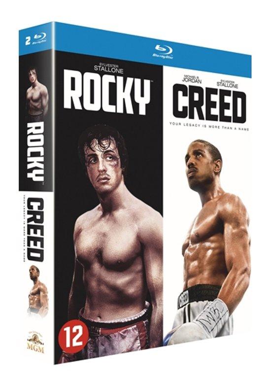 DVD cover van Creed + Rocky (Blu-ray)