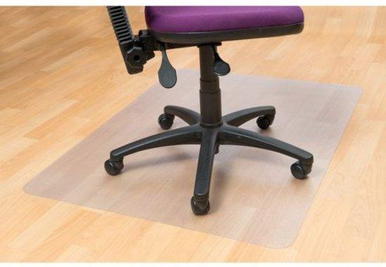 Vloerbeschermer / Bureaustoelmat PVC - Voor harde vloeren - 120x150cm