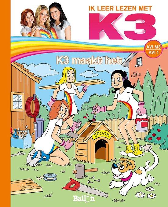 Boek cover K3 AVI 0 - K3 maakt het AVI M3 van Elly Simoens (Hardcover)