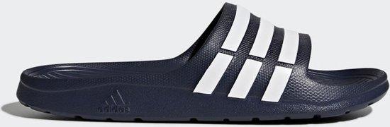 Adidas Duramo Slide badslippers - Blauw - Maat 36.5