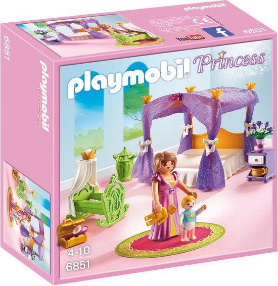 bol.com | Playmobil Princess: Koninklijke Slaapkamer / Hemelbed ...