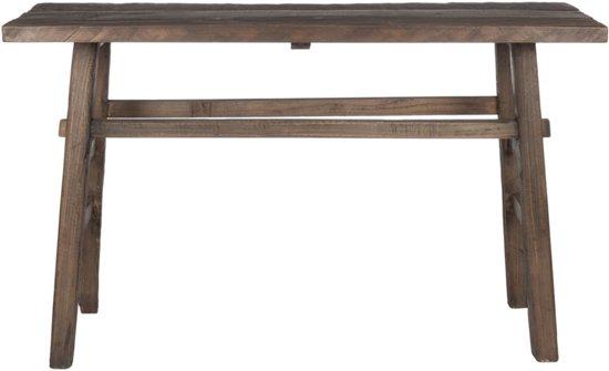 Sidetable Bruin Hout.Bol Com J Line Sidetable Hout Bruin 85 X 140 X 50