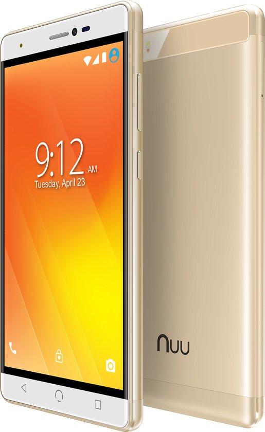 "5.5"" Nuu Mobile M3 Dual-sim 16gb Gold Android™ 7.0 Nougat"