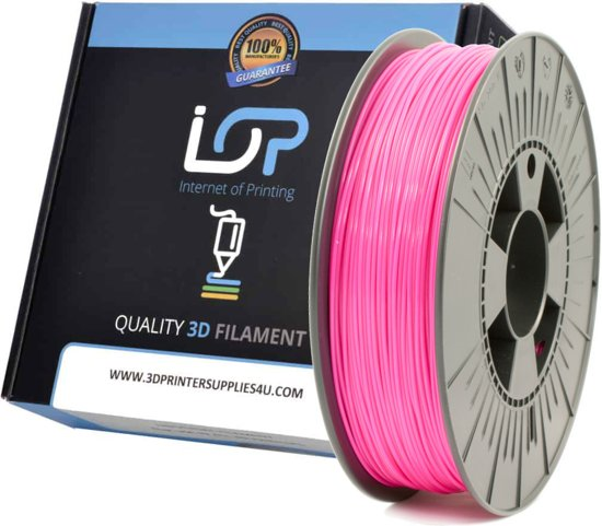 IOP PLA 1.75mm Pink (Fluor) 500g
