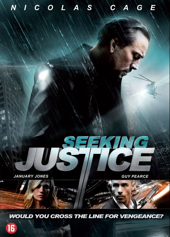 Cover van de film 'Seeking Justice'