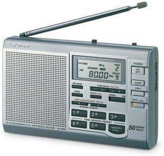 Sony ICF-SW35 Wereld Ontvanger Radio / Alle frequenties in de wereld nu portable