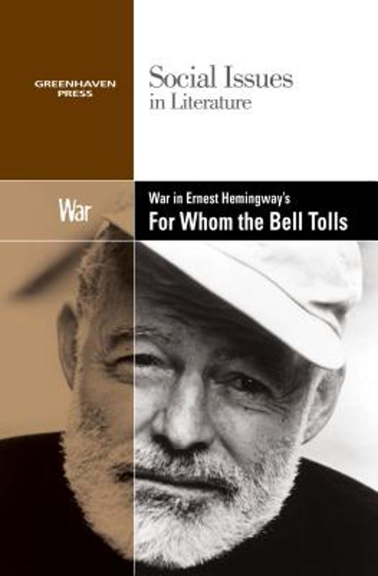 an plot overview of ernest hemingways for whom the bell tolls