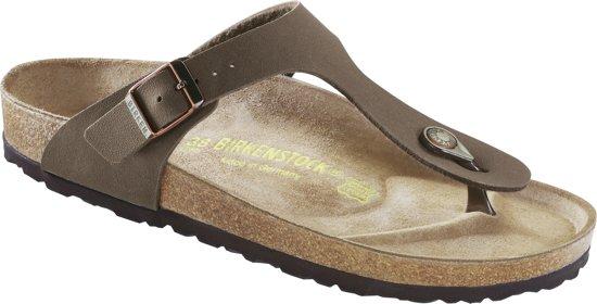 Birkenstock Gizeh Dames Slippers Mocca Maat 37