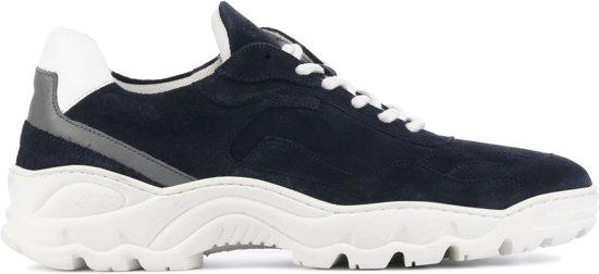 Stefano Lauran Mannen Sneakers -  Whittier - Blauw - Maat 40
