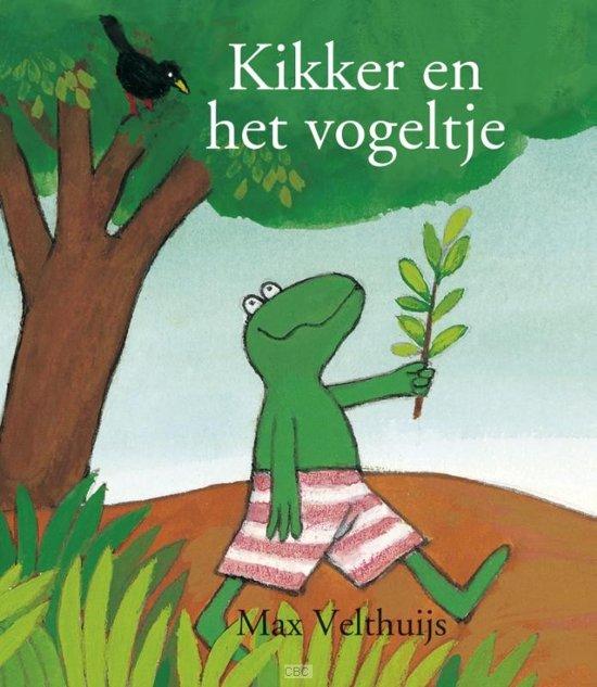 Boek cover Kikker en het vogeltje MINI van Max Velthuijs (Hardcover)