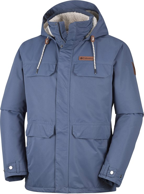 Columbia South Canyon Lined Jacket Heren Outdoorjas - Dark Mountain - M