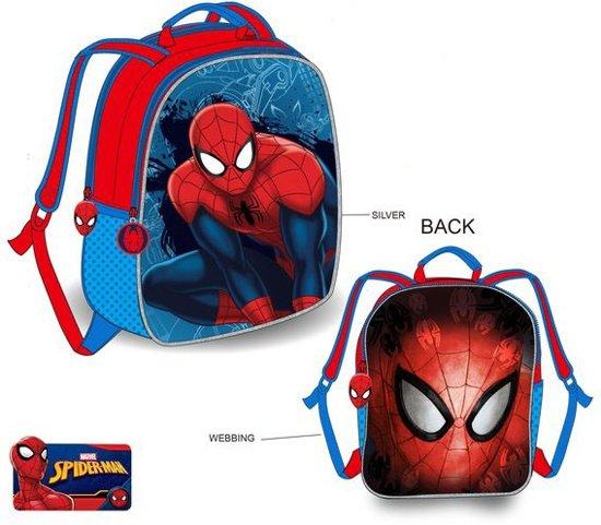9776b791c63 Spiderman rugzak 32 cm / 2 zijdes draagbaar!