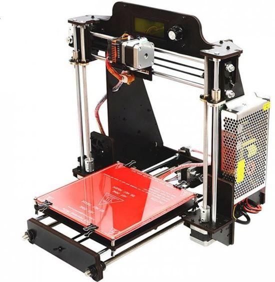 Zelfbouw 3D Printer i3 Pro houten Frame met GT2560 Board Open Filament System
