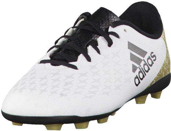 Adidas Performance Fitnessschoenen - ftwr white/core black/gold met. - 29