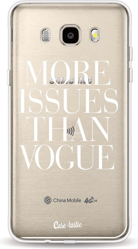 Casetastic Softcover Samsung Galaxy J5 (2016) - More issues than Vogue