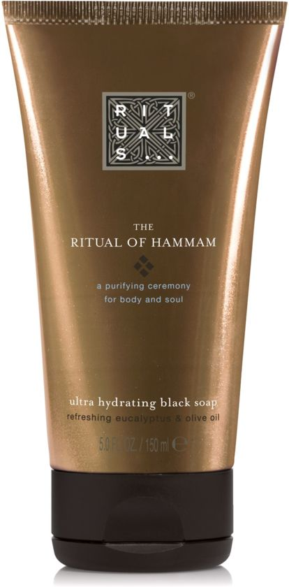 RITUALS The Ritual of Hammam Black Soap - Zwarte zeep - 150 ml
